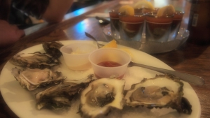 Oysters at Shuckers