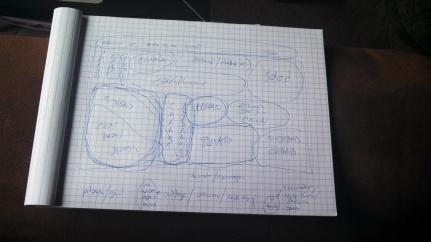 Mitch's companion Planting Plan.