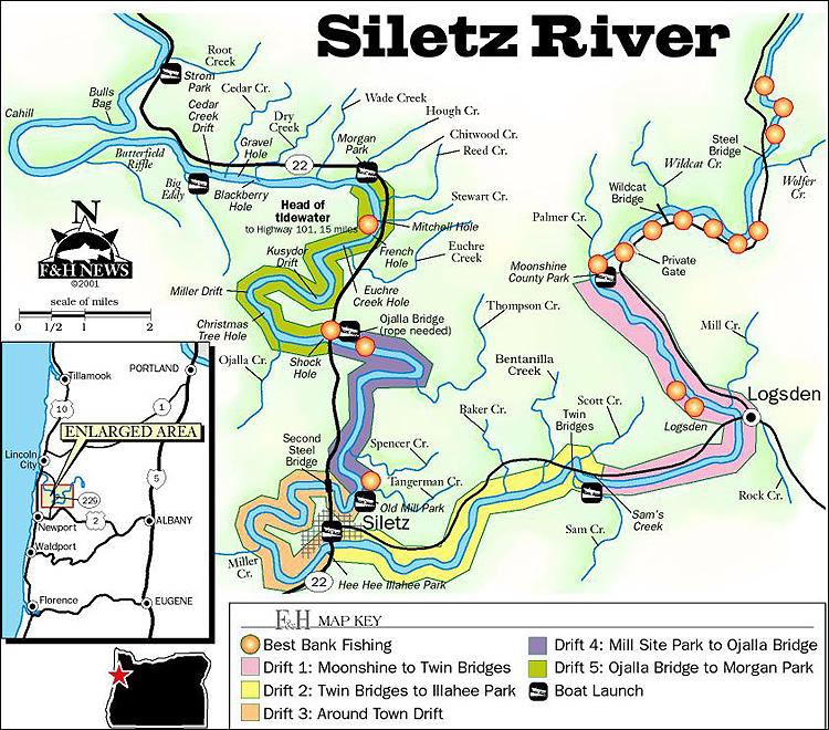Alsea Oregon Map.Alsea Siletz Around Newport Or Spey Pages