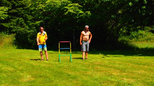 Ladderball!